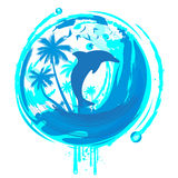 Tropical design Royalty Free Stock Photography