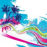 Tropical design stock photos