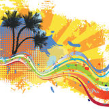 Tropical design stock illustration