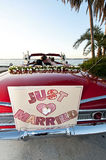 Tropical destination wedding Royalty Free Stock Photography