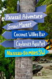 Tropical Directions Royalty Free Stock Photos