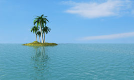 Tropical dream royalty free stock photo