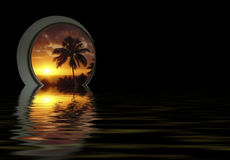 Tropical dream Royalty Free Stock Photography