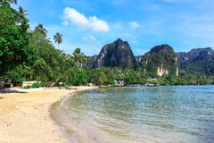 Tropical Dream Beach,Railay beach in Krabi Stock Images