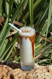 Tropical Drink In Cuba Royalty Free Stock Photos