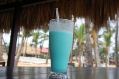Tropical Drink at Resort stock photo