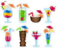 Tropical Drinks vector illustration