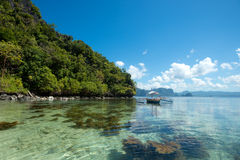 Tropical El Nido, Palawan, Philippines Stock Image
