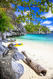 Tropical escape (El-nido,Palawan) Stock Photo
