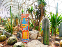 Tropical Exhibition Greenhouse plants Stock Photos