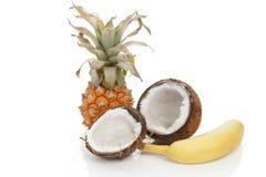 Tropical exotic fruits. Stock Photos