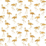 Tropical exotic seamless pattern. Stock Images