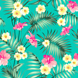 Tropical fabric design. Stock Image