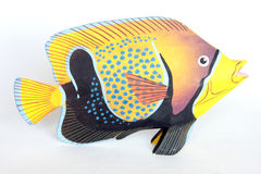 Tropical fish ornament Stock Images