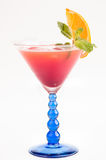 Tropical Fizz Champagne Cocktail Royalty Free Stock Photos