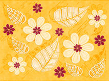 Tropical Floral Pattern Royalty Free Stock Images