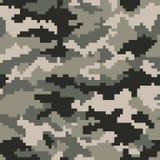 Camouflage Pattern Digital Pixels ACU Digital. Seamless Vector Illustration stock illustration