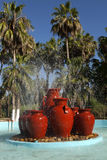 Tropical Fountain stock photography