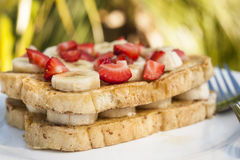 Tropical French Toast Stock Photography