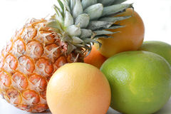 Tropical fruit. Food with vitamins for a long and healthy life Royalty Free Stock Photography