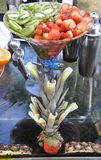 Tropical Fruit Centerpiece Royalty Free Stock Image