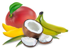 Tropical fruit Royalty Free Stock Photography