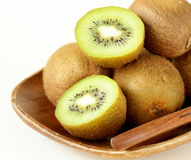 Tropical fruit fresh sweet ripe kiwi Royalty Free Stock Photography