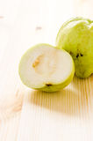 The tropical fruit high vitamin c, fresh guavas Stock Photography