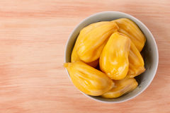 Tropical fruit Jackfruit (jakfruit, jack, jak) in bowl Royalty Free Stock Photography
