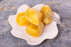 Tropical fruit Jackfruit (jakfruit, jack, jak) Stock Photo
