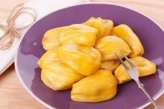Tropical fruit Jackfruit (jakfruit, jack, jak) Stock Photo