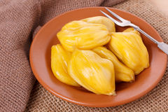 Tropical fruit Jackfruit (jakfruit, jack, jak) Stock Photography