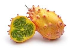 Tropical fruit Kiwano Stock Photo