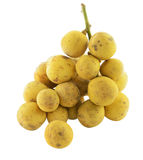 Tropical Fruit. Long Kong On A White Background Royalty Free Stock Photography