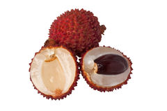 Tropical fruit - Lychee Royalty Free Stock Photos