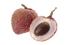 Tropical fruit - Lychee royalty free stock images