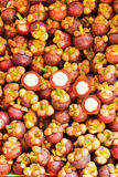 Tropical Fruit,Mangosteen Stock Image