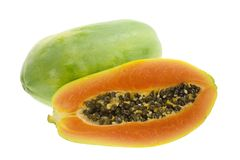 Tropical fruit - Papaya Stock Images