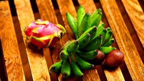 Tropical fruit stock video footage