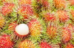 Tropical Fruit,Rambutan Stock Images