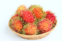 Tropical Fruit, Rambutan Royalty Free Stock Images