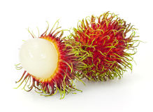 Tropical fruit, rambutan Stock Photography