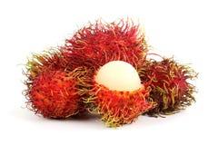 Tropical fruit rambutan Stock Photography