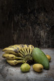 Tropical fruit still life Stock Photography