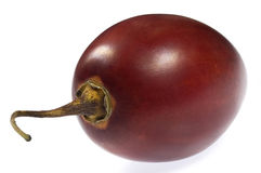 Tropical fruit tamarillo. Isolated on the white Royalty Free Stock Photography