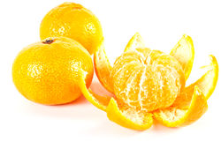 Tropical fruit. Tangerine Royalty Free Stock Images