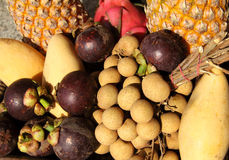 Tropical fruit of Thailand Royalty Free Stock Images