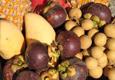 Tropical fruit of Thailand Royalty Free Stock Photography
