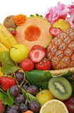 Tropical fruits Stock Photography