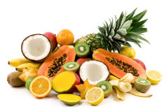 Tropical fruits royalty free stock photography
